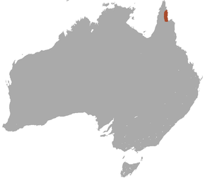 Description de l'image Cape York Rock Wallaby area.png.