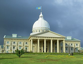 History of Palau - The New Capitol in Palau