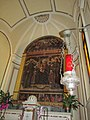 Cappella del Santissimo 2, trittico su tavola.jpg