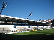 Cardiff Arms Park - north stand