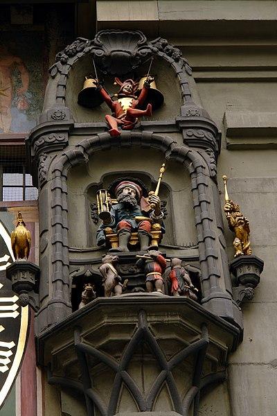 Fichier:Carillon Zytglogge Berne.jpg