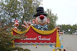 Carnival Festival dark ride