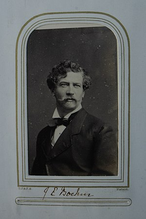 Joseph Edgar Boehm - Boehm's carte de visite, circa 1860s.