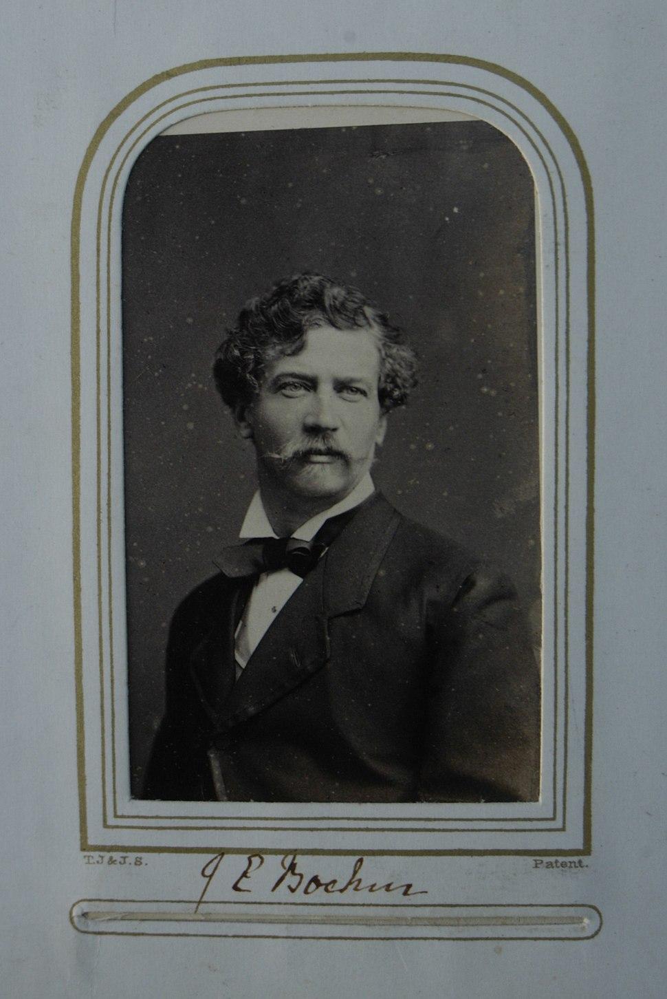 Carte de Visite of Joseph Edgar Boehm, 1860s