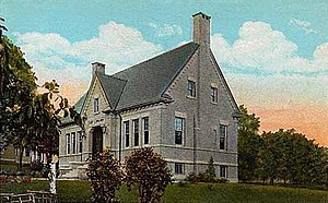 Houlton, Maine - Cary Library, a Carnegie library designed by John Calvin Stevens