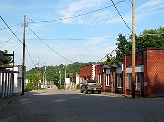 Caryville, Tennessee - Main Street in Caryville