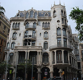 Nederlands: Casa Fuster in Barcelona