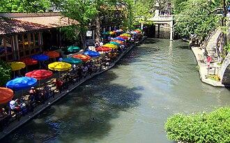 San Antonio River Walk - Casa Rio restaurant