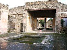 Pompei antica wikipedia for Interno casa antica