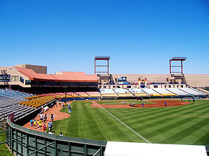 Cashman Field - Image: Cashman Field