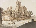 Caspar David Friedrich Kirche von Lyngby c1795-1797.jpg