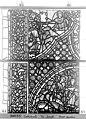 Cathédrale - Vitrail, baie 59, Vie de Joseph, troisième panneau, en haut - Rouen - Médiathèque de l'architecture et du patrimoine - APMH00031363.jpg
