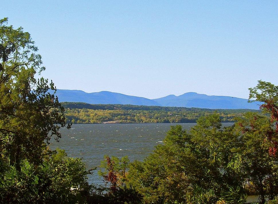 Catskills beyond Hudson