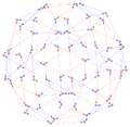 Cayley graph of Alternating Group A5.png