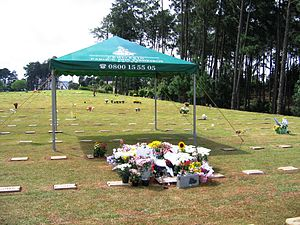 Isabella Nardoni case - Isabella's grave