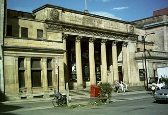 Montreal Exchange - The Beaux-Arts style building that originally served as the Montreal Stock Exchange.