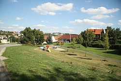 Center of Záblatí, Žďár nad Sázavou District.JPG