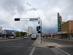 Central Avenue (Albuquerque, New Mexico) - East Central