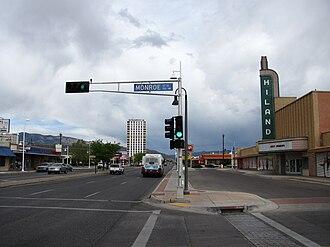 Central Avenue (Albuquerque, New Mexico) - East Central