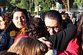 Ceremonia conmemorativa 30 años de los Sismos de 1985 Reloj de Sol, Tlatelolco. 10.JPG