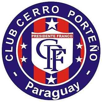 Club Cerro Porteño (Presidente Franco) - Cerro PF