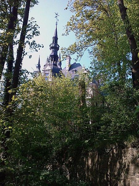 Château Le Fy, sur les hauteurs d'Esneux