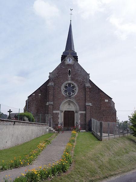 Chéry-lès-Rozoy (Aisne) église