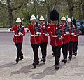Changing of the Guard - squad of Royal Gibraltar Regiment.jpg