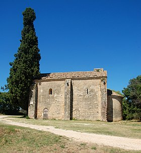 image illustrative de l'article Chapelle Saint-Caprais de Castillon-du-Gard