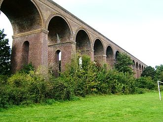 Eastern Union Railway - Chappel Viaduct, near Wakes Colne