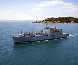 USNS Charles Drew (T-AKE-10) - USNS Charles Drew during 2010