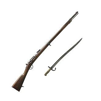 Chassepot - Chassepot rifle with bayonet