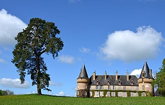 Anthien - The Chateau de Villemolin, in Anthien