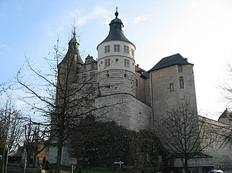 County of Montbéliard - Château de Montbéliard