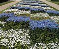 Checkered garden in Tours, France.jpg