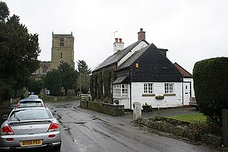 Checkley - Image: Checkley Village geograph.org.uk 354330