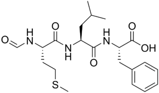 <i>N</i>-Formylmethionine-leucyl-phenylalanine chemical compound