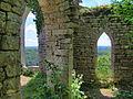 Chenecey-Buillon, les ruines du château de Charencey.jpg