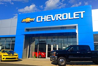 Chevrolet American automobile division of GM