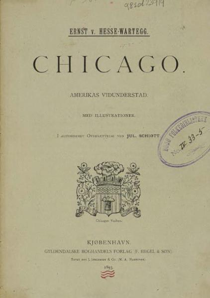 File:Chicago - Amerikas Vidunderstad.djvu
