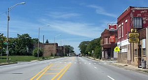 Chicago Heights, Illinois - US 30 in Chicago Heights