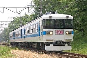Chichibu Railway 3000 series - 3000 series, May 2006