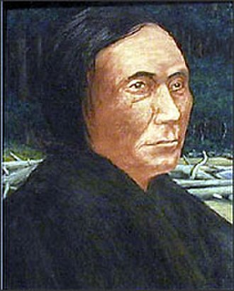 Battle of Seattle (1856) - Portrait of Chief Leschi