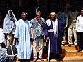 Chief of Bana and Bandja with US ambassador.JPG