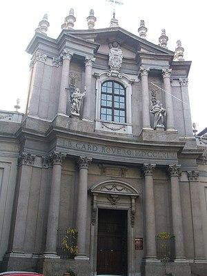 Santa Teresa, Turin - Facade