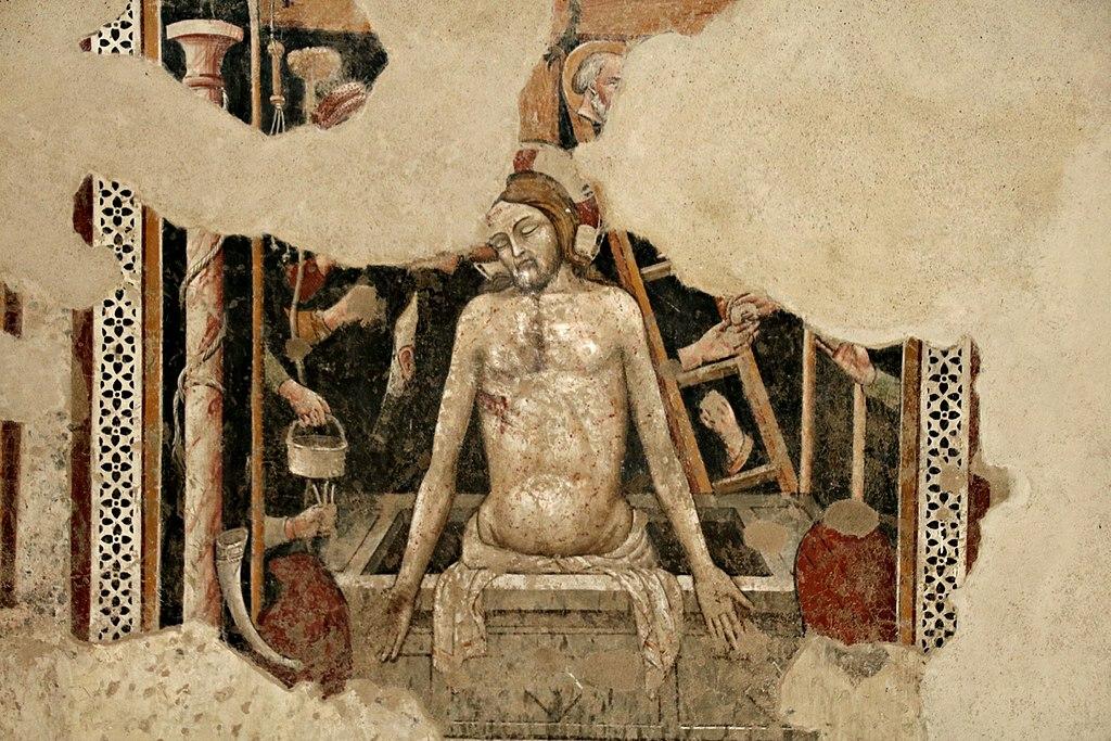 Affresco nella Chiesa di San Francesco (Lucignano)