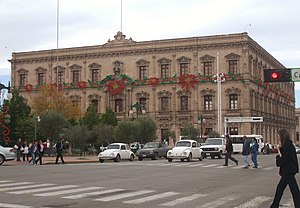 Government Palace of Chihuahua - The Government Palace in Chihuahua