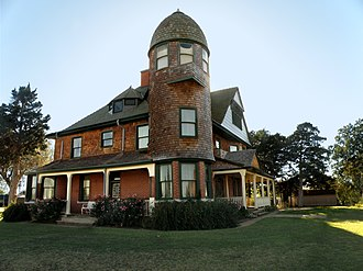 National Register of Historic Places listings in Kingfisher County, Oklahoma - Image: Chisholm Trail Museum Governor Seay Mansion 1892 Queen Anne Victorian Home, Kingfisher, OK USA panoramio (18)