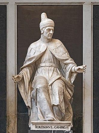 Girolamo Campagna - Statue of Leonardo Loredan in Santi Giovanni e Paolo, Venice