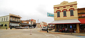 Searcy, Arkansas - Part of historic downtown Searcy